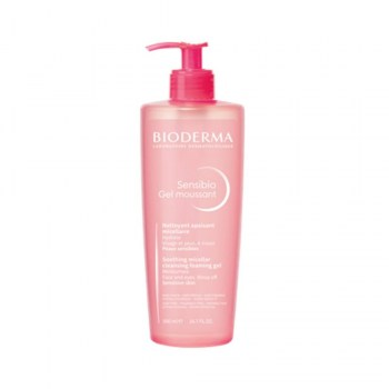 bioderma sensibio gel moussant 500 ml